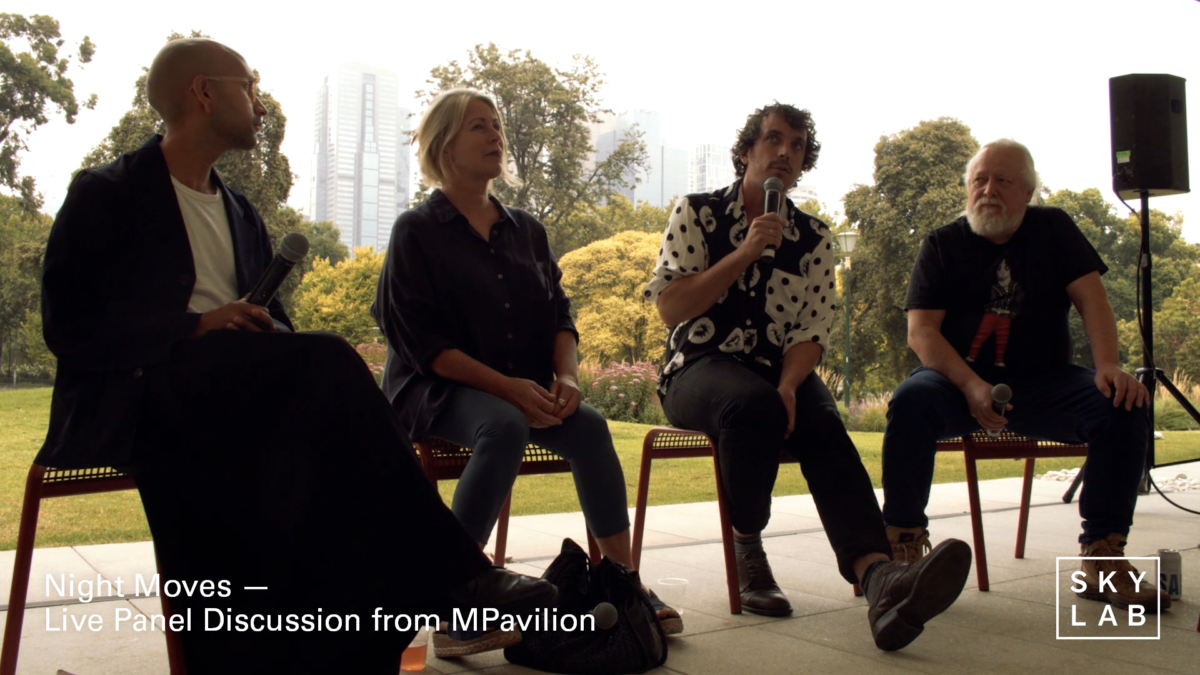 Night Moves: Live Panel – Skylab Radio x MPavilion